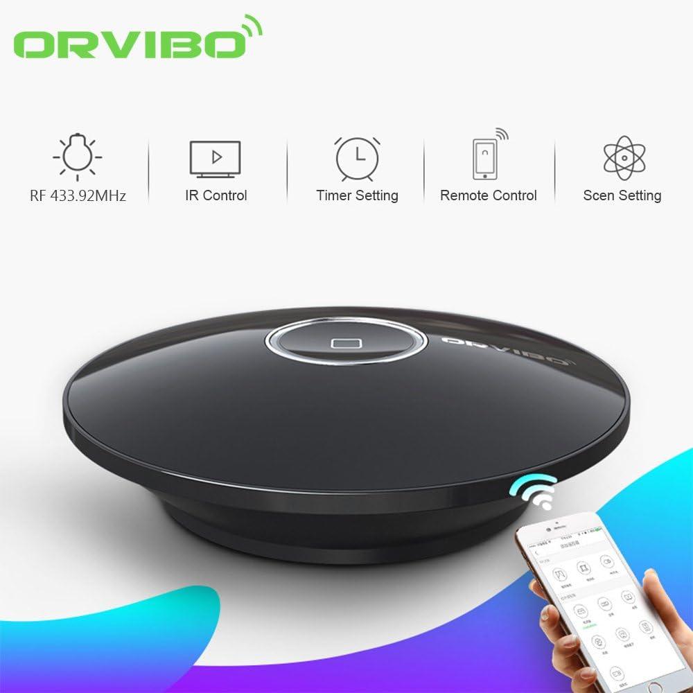 WiFi Smart Home hub Box contr/ôleur intelligent Orvibo Allone Pro IR RF tout dans une automatisation t/él/écommande domotique Compatible pour Apple Smartphone Android