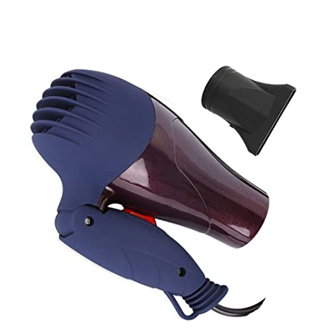 1500W portš¢til mini secador soplador boquilla recolecciš®n 220V Viajero plegable elšŠctrico domšŠstico Secador de pelo?: Amazon.es: Salud y cuidado ...
