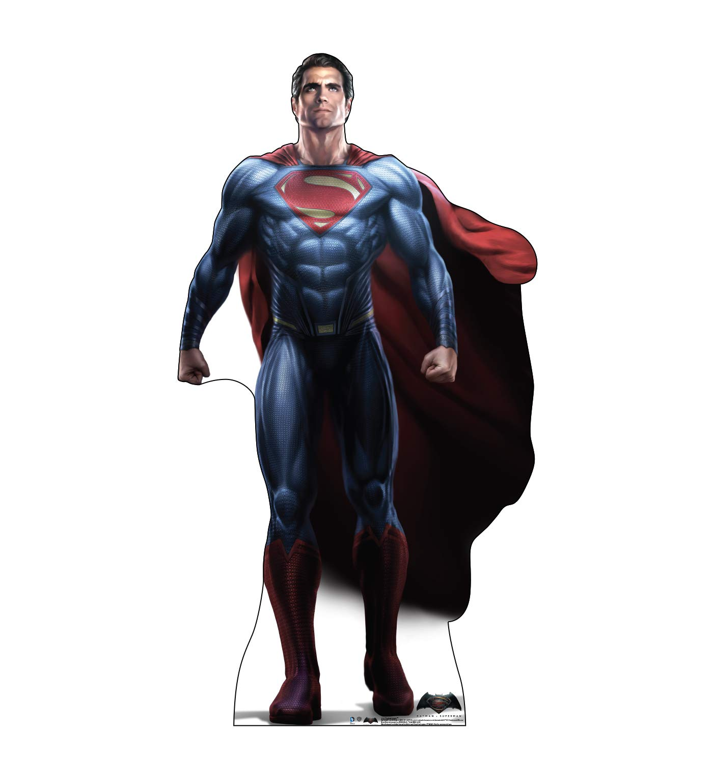 Advanced Graphics Superman Life Size Cardboard Cutout Standup - Batman V Superman: Dawn of Justice (2016) by Advanced Graphics (Image #1)