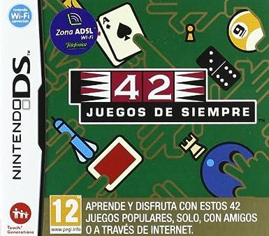 NDS 42 Juegos de siempre: Amazon.es: Videojuegos