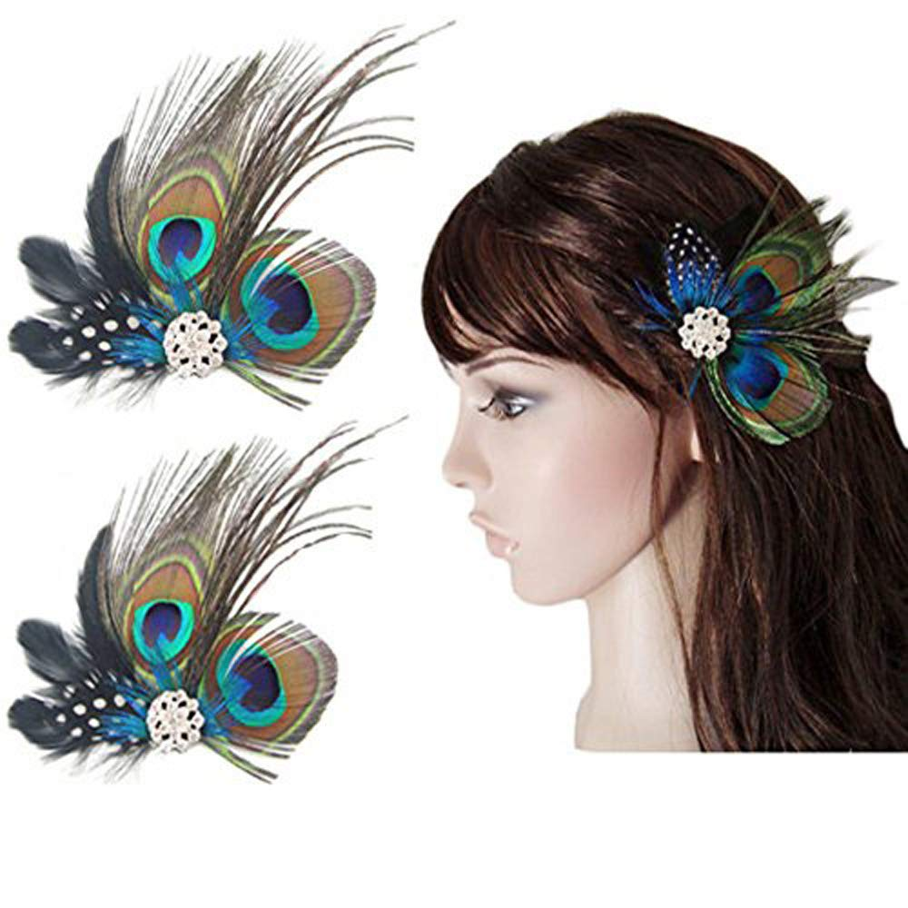 Lot Butterfly Hair Clips Bridal Hair Accessories Wedding Photography Costume SL