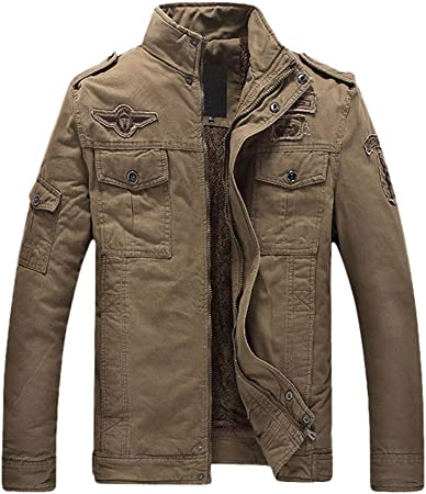 Double pocket Army style Shirts New mens Casual Cotton long sleeve shirt 6400