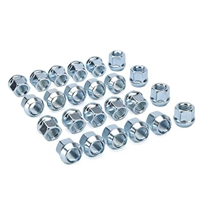 dynofit 14x2.0 aftermarket Wheel Lug Nuts, 24pcs M14-2.0 21mm Heigh Open end conical lugnuts for Ford Excursion,2000-14 Expedition,2004-2014 F-150,09-14 Lobo,00-13 Transit,Navigator and More Wheels: Industrial & Scientific [5Bkhe2000075]