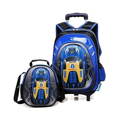 BAG Trolley Escolar Mochila Bolsa para niños Mochila Escolar para niños con Ruedas Mochila con Ruedas