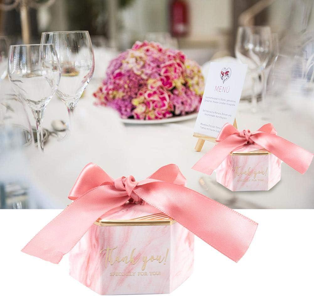 30 Pcs Bo/îte de Bonbons Coffrets Cadeaux en Papier Faveurs de f/ête de Mariage Ruban Cadeaux significatifs Bo/îte de Bonbons de Mariage Or Asixx Bo/îte de Bonbons Cadeau