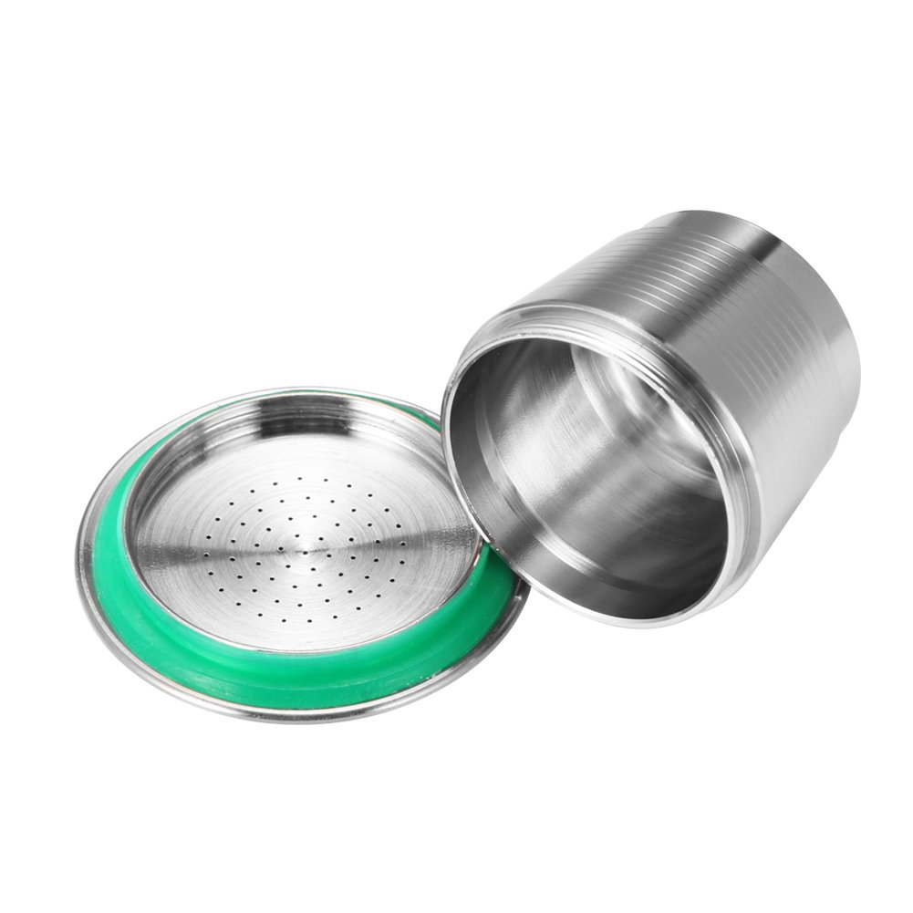 Coffee Capsule, Refillable Reusable New Stainless Steel Metal Capsules Cup, Empty Coffee Capsule Filter for Nespresso Coffee Machine by Powstro (Image #9)