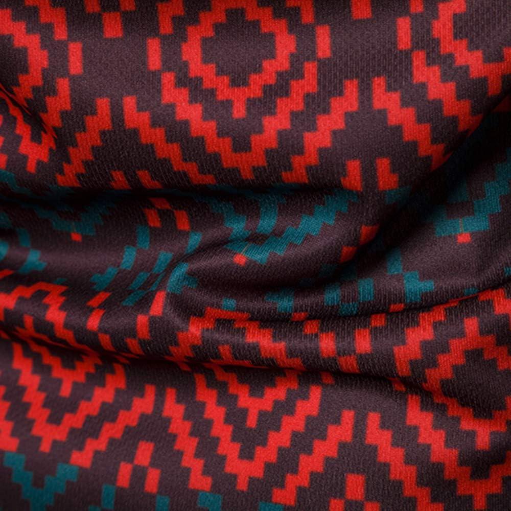Vertvie Homme 2 Faux Pi/èces T-Shirt /à Manches Longues 3D Imprim/é V/êtement de No/ël Top Pull Blouse Losir Casual