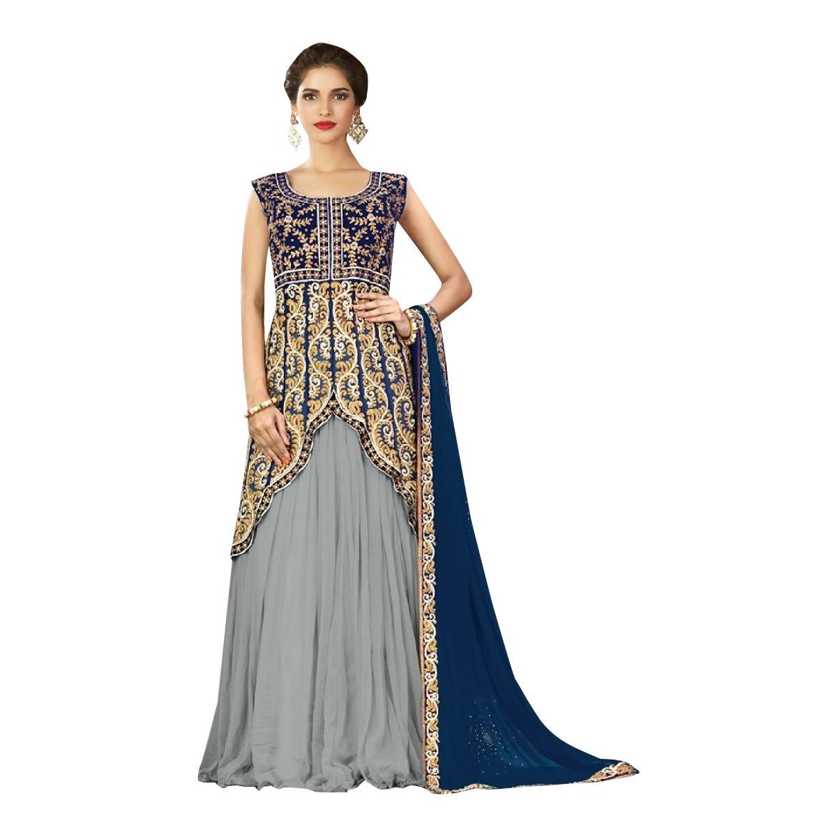 ea6cfa1de7c Amazon.com  Just Launch Bridal Bollywood Lehenga Choli Dupatta Party  Wedding Wear Women Ceremony Festival By Ethnic Emporium 502  Clothing