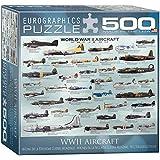 World War II Aircraft Puzzle, 500-Piece