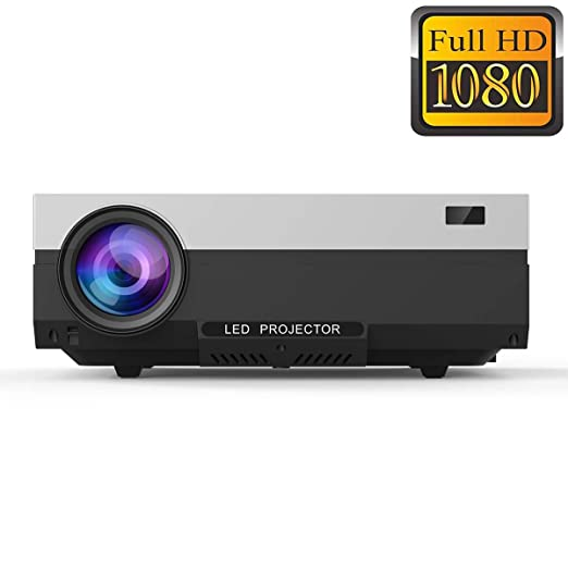 AI LIFE Proyector LCD de Cine en casa Full HD 1080P Luz LED HDMI ...