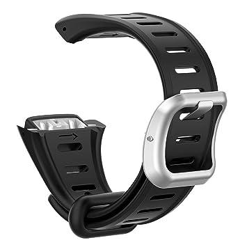 Hillrong - Correa de Silicona para Reloj Inteligente Polar FT60 (22 mm)