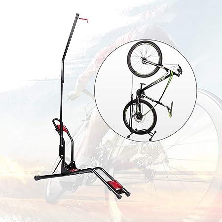 YUEWO Soporte de Suelo para Bicicleta, Vertical/Horizontal, para ...