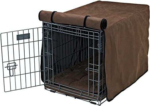 Bowsers Luxury Crate Cover, Small, Cowboy