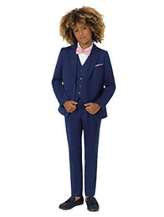 ad229a2c3 Amazon.com  Roco Boys Modern Fit Suit