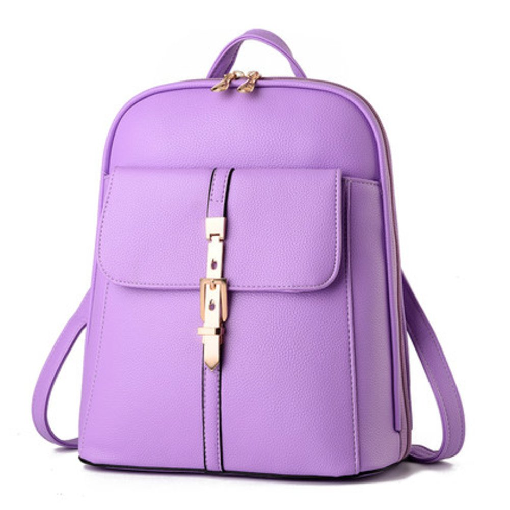 Single shoulder backpack/Simple fashion Lady bag/Wild casual backpack/ dual-use simple bag-F