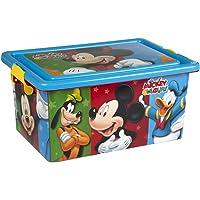 ColorBaby - Caja ordenación 13 litros, diseño Mickey