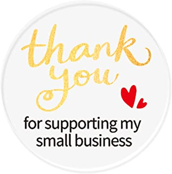 Packaging Stickers Thank You for Supporting a Small Business Stickers Mailing Sticker Floral Stickers Wreath Stickers BUSINESS STICKERS