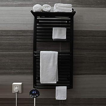 Escalera Plana del radiador para toalleros con calefacción para baños Elegantes, Calentador de Toallas Toalla