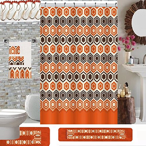 Quality Geometric Curtain Contour Matching product image
