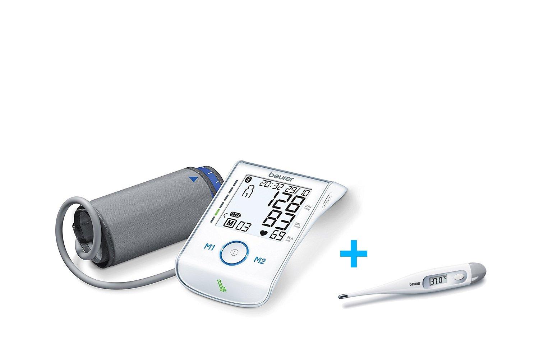 Beurer BM-85 - Tensiómetro de brazo Bluetooth, compatible con App