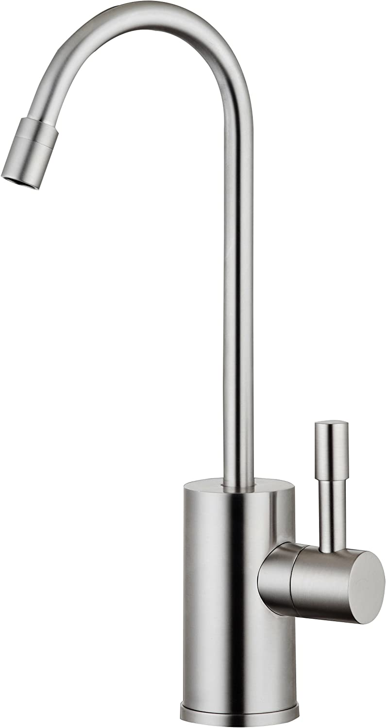Ready Hot RH-F570-BN Single Lever Faucet for Hot Water Only, Brushed Nickel Finish