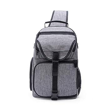 db8bdffd51a1 Amazon.com: AOLVO DSLR Sling Camera Bag, Camera Backpack DSLR Camera ...