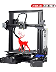 3D Printer Ender 3, Official Creality Store Newest Version of Ender 3 with removeable Fiberglass Building Plate and Resume Printing