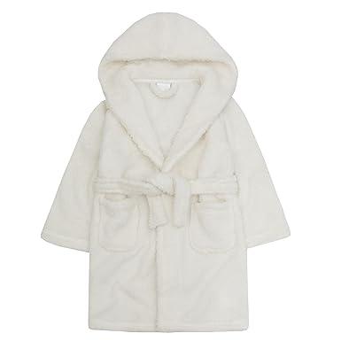 Amazon.com: MINIKIDZ Infant Girls Sparkle Snuggle Fleece Dressing ...