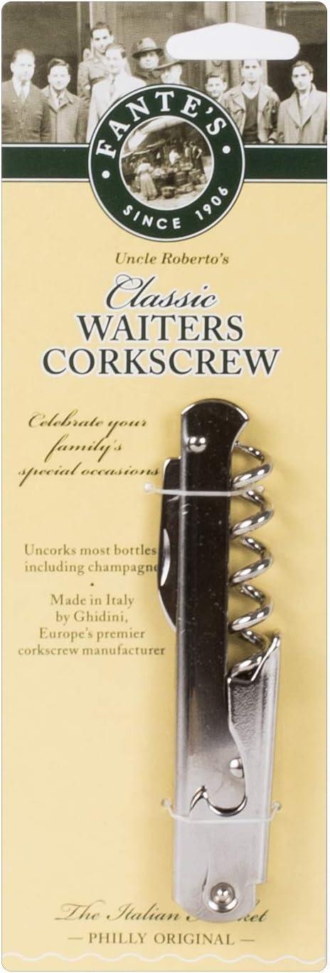 Fantes Classic Waiter's Corkscrew