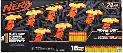 NERF Alpha Strike Stinger SD-1 Blasters Pack of 8