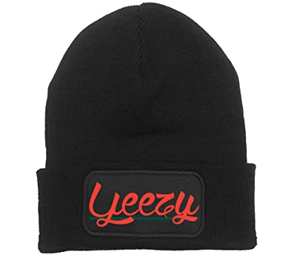 ea3439d49601b Image Unavailable. Image not available for. Color  Kanye West Yeezy Beanie  Hat ...
