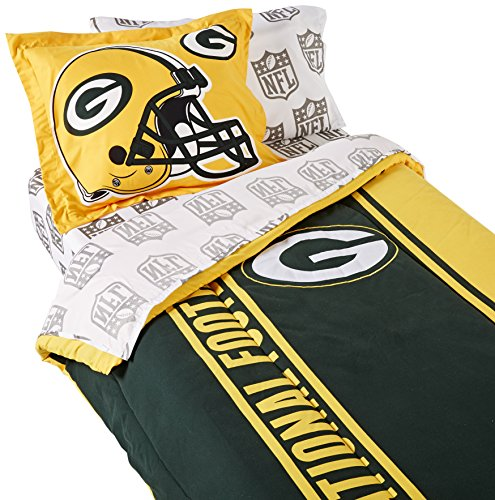 The Northwest Company NFL Soft & Cozy 5-Piece Twin Size Bed in a Bag Set
