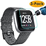 KIMILAR [3-Pack] Screen Protector Compatible Fitbit Versa...