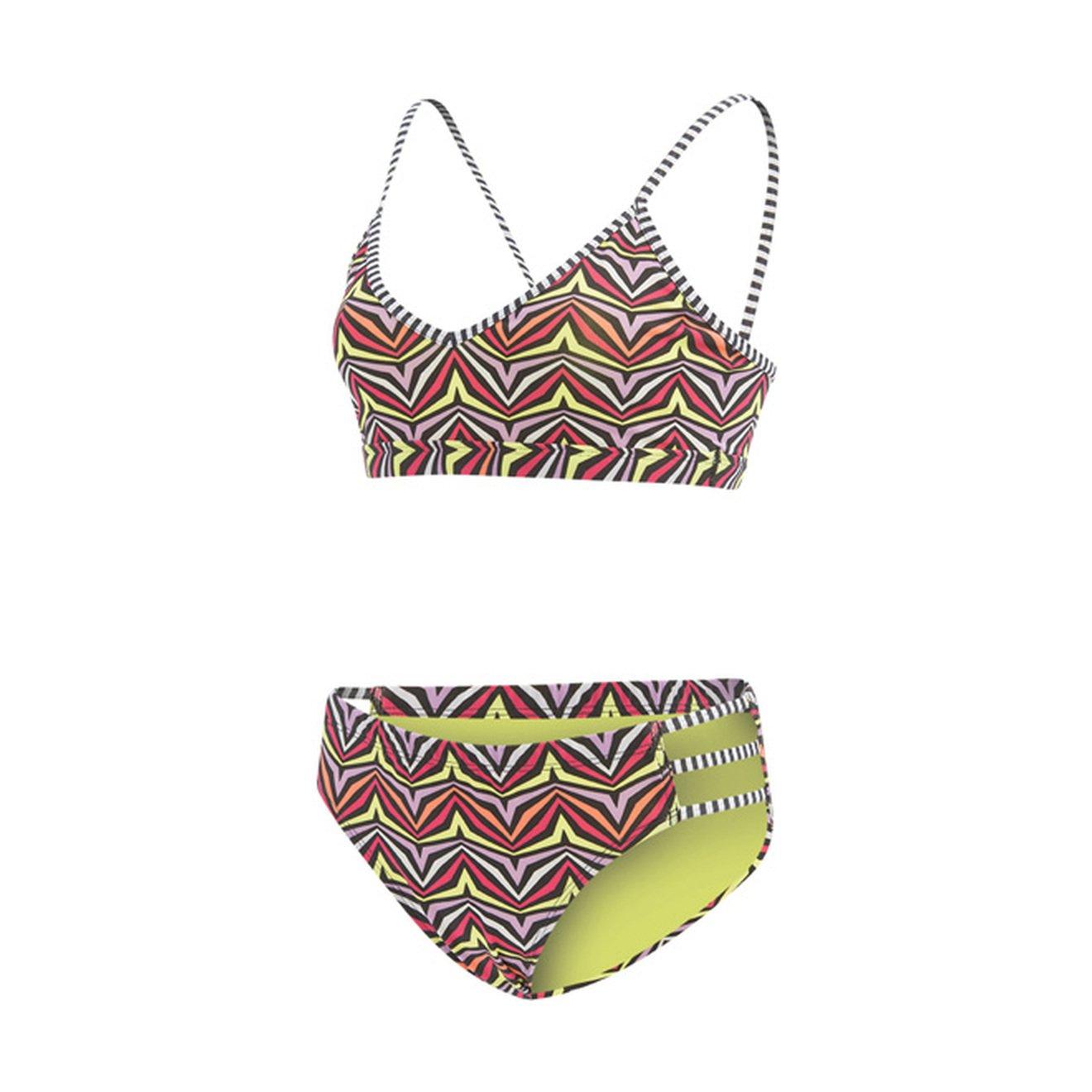 Dolfin Womens Strappy Two Piece Swimsuit