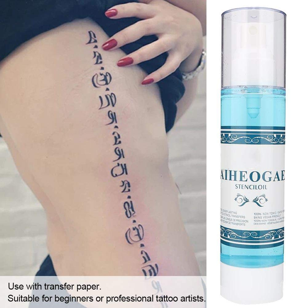 Simlug 200ml Professional Tattoo Transfer Liquid Stencil Primer ...