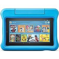 Das neue Fire7 Kids Edition-Tablet, 7-Zoll-Display, 16GB, blaue kindgerechte Hülle