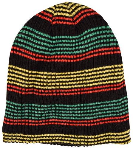 Quiksilver Mens Remix Beanie Hat,One Size,Rasta