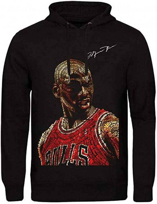 Magic Custom – Sudadera con capucha con diseño de Michael Jordan