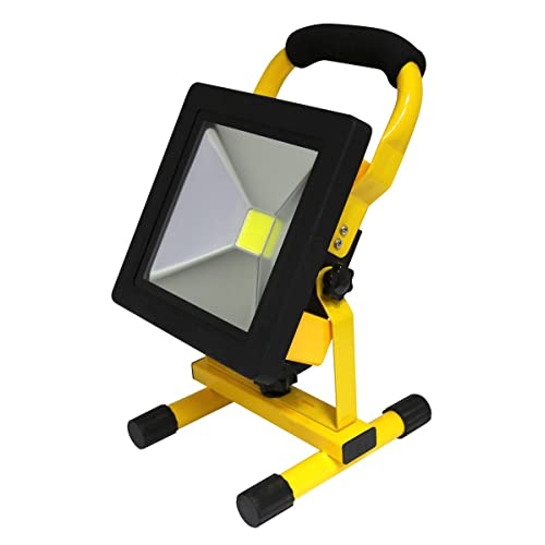 Portable Outdoor 5w Led Rechargeable Work Garage Flood: LED Garage Light: Amazon.co.uk