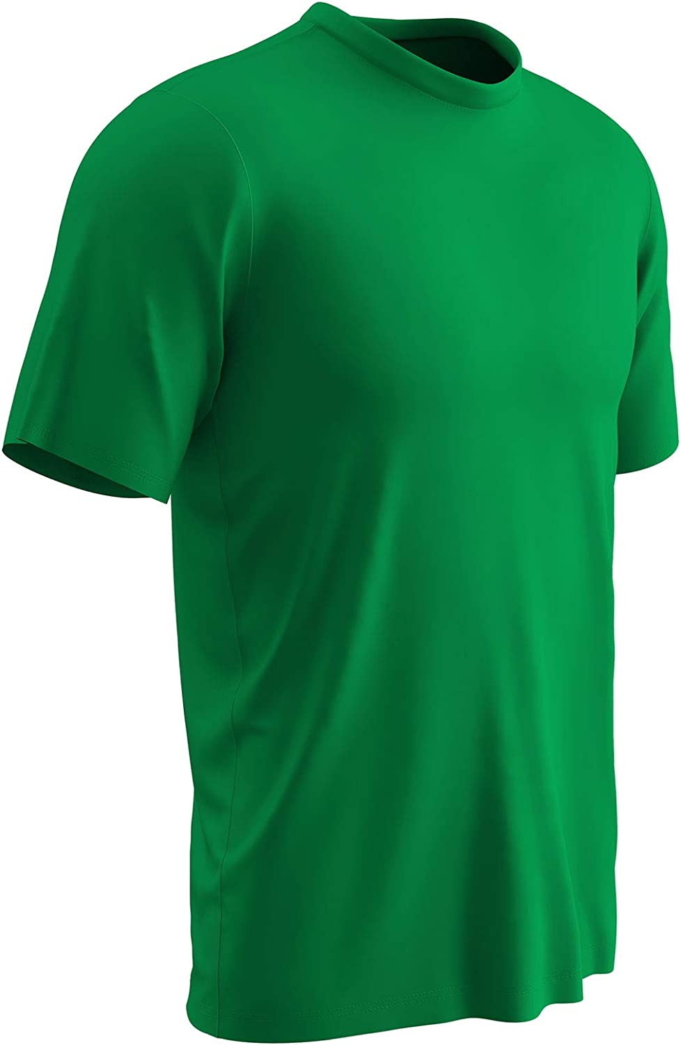 CHAMPRO Vision Lightweight Polyester T-Shirt Jersey Kelly Green Adult Small