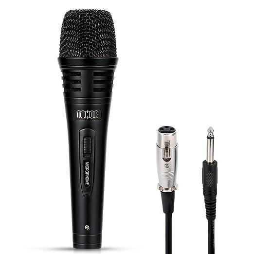 3 opinioni per Tonor Microfono Diamico Professionale con 3m Cavo per DVD/ TV/ KTV audio/