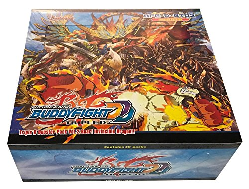BuddyFight Roar! Invincible Dragon!! Booster Box English Game Cards BFE-D-BT02 by Buddyfight