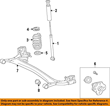 Toyota 42450-47050 Axle Bearing and Hub Assembly
