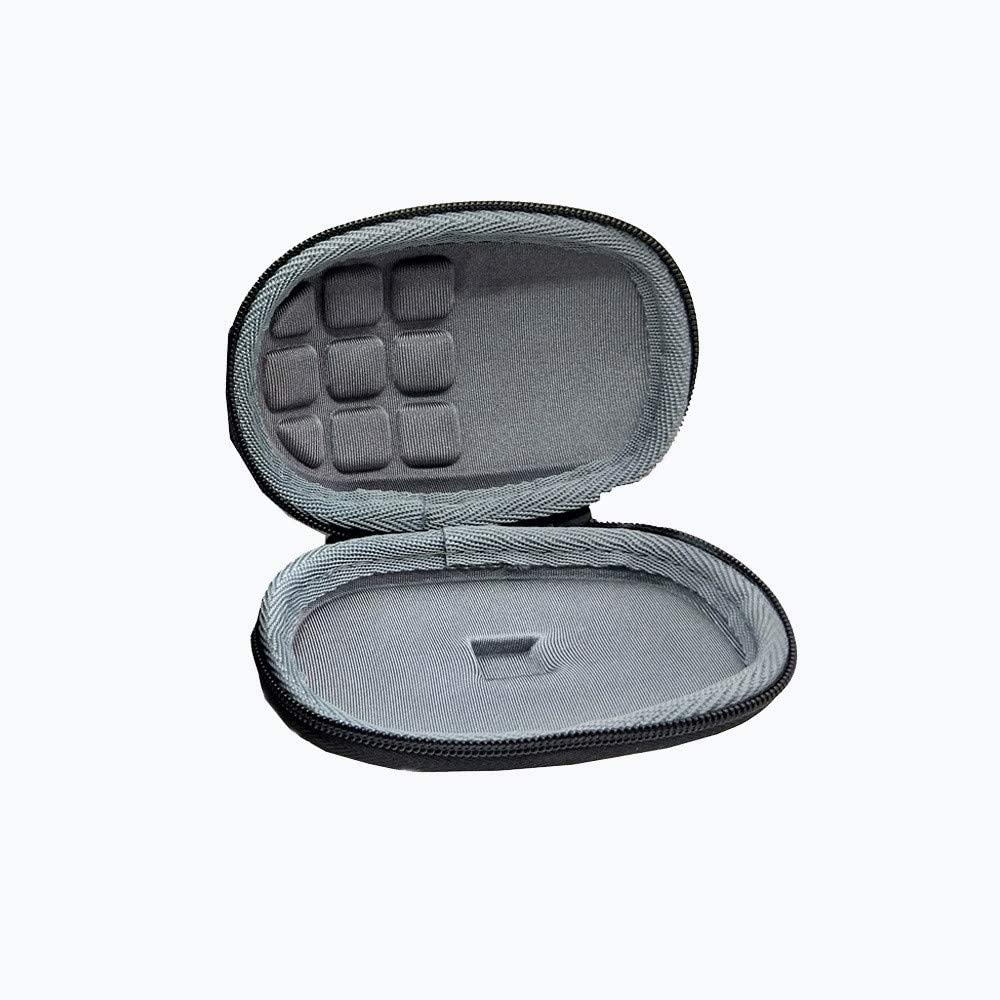 Vacally Wireless Mouse Hard Shell Protection Box Zipper Comprehensive Protection Storage Bag Travel Portable Anti-Lost Shockproof Mouse Box