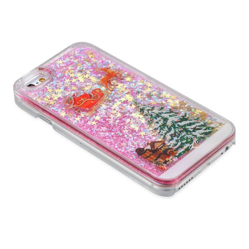 Amazon.com: iPhone 6 Plus/6 Plus S Case de Navidad en 3d ...
