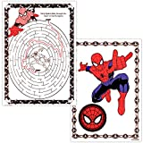 Marvel Spiderman Coloring Book Bundle with Over 300