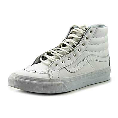 Vans SK8-Hi Slim (rivets) antique silver/true white Fall Winter 2016 - 4.5 SWBzQWNlY