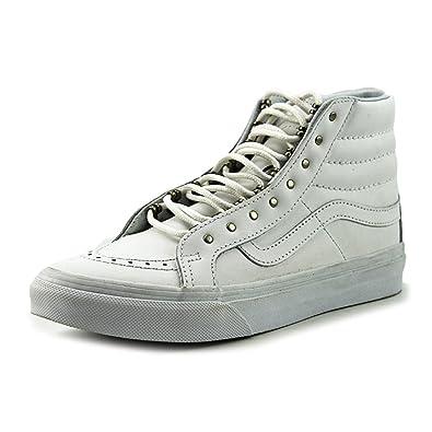 Vans Unisex Erwachsene Sk8 Hi Slim Hohe Sneakers  6.0(Rivets) Antique Silver/T
