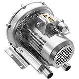 LNLEE Regenerative Blower High-Pressure Vortex Ring Blower 110V 60Hz Single Phase 0.6HP 41CFM for Sewage Aeration…