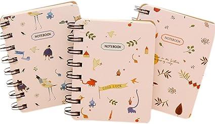 Gespout Cuaderno Notas Infantil Papelería Libreta Papel Cuadernos Agenda Libro Notas Pintura Papel de Etiqueta Memorándum Deseando Botellas Amigo Regalo de Graduación Lindo Color Aleatorio 1pcs: Amazon.es: Oficina y papelería